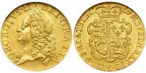 1 Guinea Regno Unito di Gran Bretagna (1707-1801) Oro Giorgio II (1683-1760)