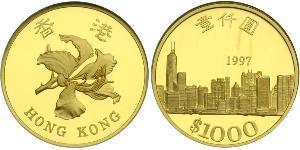 1000 Dollaro Hong Kong Oro