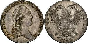 1 Thaler States of Germany Argent Frédéric-Auguste III de Saxe (1865-1932)