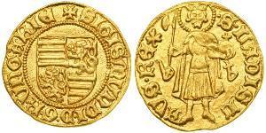 1 Gulden Kingdom of Hungary (1000-1918) Gold Sigismund, Holy Roman Emperor (1368 -1437)