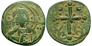 1 Follis 拜占庭帝国 青铜 Nicephorus III Botaniates (1020-1081)