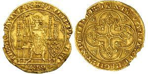 1 Ecu Reino de Francia (843-1791) Oro Felipe VI de Francia (1293 - 1350)