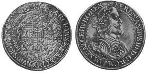 1 Thaler 神圣罗马帝国 (962 - 1806) 銀
