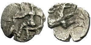 1 Hemiobol Стародавня Греція (1100BC-330) Срібло