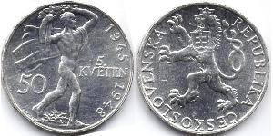 50 Krone Cecoslovacchia  (1918-1992)
