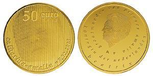 50 Євро Королівство Нідерланди (1815 - ) Золото