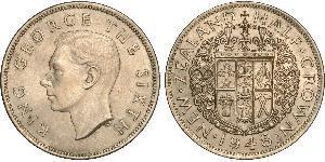 1/2 Crown New Zealand Copper/Nickel George VI (1895-1952)