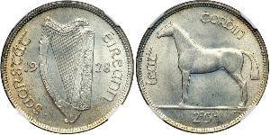1/2 Crown Irlanda (1922 - )