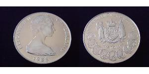 1 Dollaro Nuova Zelanda  Elisabetta II (1926-)