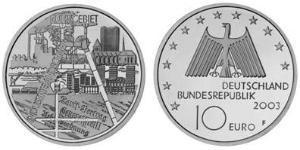 10 Euro 德国 銀