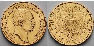 20 Mark Kingdom of Prussia (1701-1918) Gold