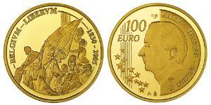 100 Euro 比利时 金 阿尔贝二世 (比利时)