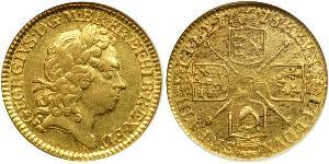 1/2 Guinea Royaume de Grande-Bretagne (1707-1801) Or George I (1660-1727)