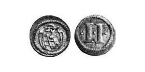 2 Пфенниг Бавария (герцогство) (907 - 1623) Медь Максимилиан I (курфюрст Баварии)(1573 – 1651)