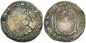 1 Sixpence 英格兰王国 銀 查理一世 (英格蘭) (1600 - 1649)