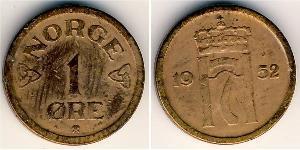 1 Ore Norway Bronze