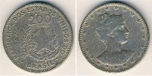 200 Reis Brasilien Kupfer/Nickel
