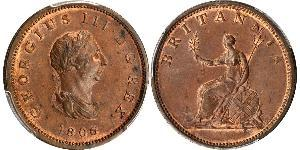 1/2 Penny United Kingdom of Great Britain and Ireland (1801-1922) Copper George III (1738-1820)