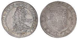Шилінг Королівство Англія (927-1649,1660-1707) Срібло Карл I (1600-1649)