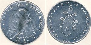 5 Lira Vatican (1926-)