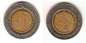 1 Peso Mexiko (1867 - ) Bimetall