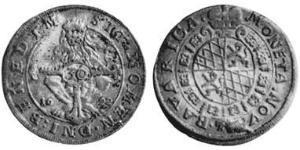 30 Kreuzer Duchy of Bavaria (907 - 1623) 銀 Maximilian I, Elector of Bavaria (1573 – 1651)