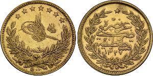 500 Piastre Imperio otomano (1299-1923) Oro