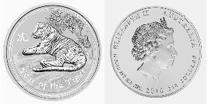 300 Dollar Australie (1939 - ) Argent Elizabeth II (1926-)