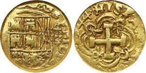 4 Escudo Vicereame della Nuova Granada (1717 - 1819) Oro