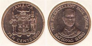 10 Cent Jamayica (1962 - ) Bronze