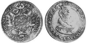 1/2 Thaler Saint-Empire romain germanique (962-1806) Argent