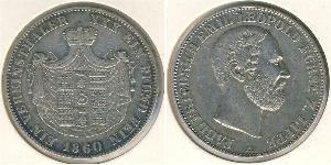 1 Thaler Principality of Lippe (1123 - 1918) Silver