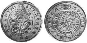 60 Kreuzer Geschichte Bayerns (907 - 1623) Silber Maximilian I. (Bayern)(1573 – 1651)