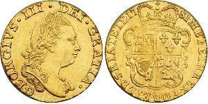 1/2 Guinea 大不列顛王國 (1707 - 1800) 金 喬治三世 (1738-1820)
