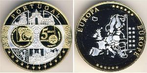5 Euro 葡萄牙 Bimetal