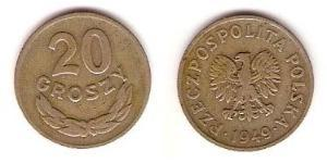 20 Grosh Polen Kupfer/Nickel