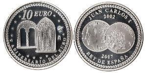 10 Euro Kingdom of Spain (1976 - ) Silver Juan Carlos I of Spain (1938 - )
