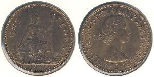 1 Penny Regno Unito  Bronzo