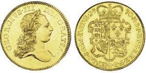 5 Гинея Королевство Великобритания (1707-1801) Золото Георг III (1738-1820)