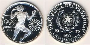 150 Guaraní Paraguay (1811 - ) Argento