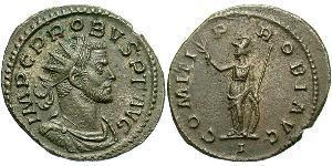1 Антонініан Римська імперія (27BC-395) Мідь/Срібло Проб (232-282)