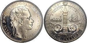 2 Талер Австрійська імперія (1804-1867) Срібло Франц Иосиф I (1830 - 1916)