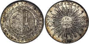 6 Флорин Швейцария Серебро