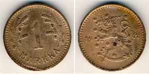 1 Mark 芬兰 銅