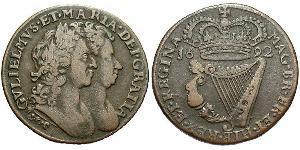 1 Penny 爱尔兰共和国 銅