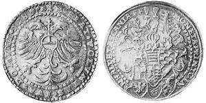 1 Thaler Anhalt (1212 - 1806) Argento