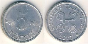 5 Penny 芬兰 铝