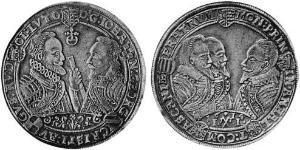 1 Thaler Anhalt (1212 - 1806) Plata