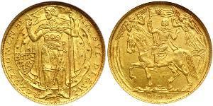 3 Ducat Czechoslovakia (1918-1992) Gold