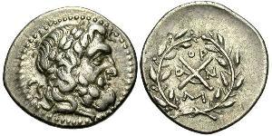 1 Hemidrachm Ancient Greece (1100BC-330) 青铜